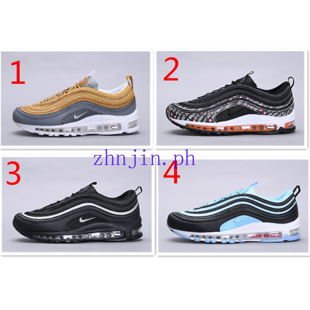 best service cd708 1d0b7 Original Nike Air Max 97 Men Breathable Running Shoes Sports