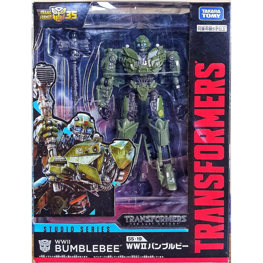 Takara Tomy Transformers STUDIO SERIES SS-19 WWII Bumblebee Figure NEW