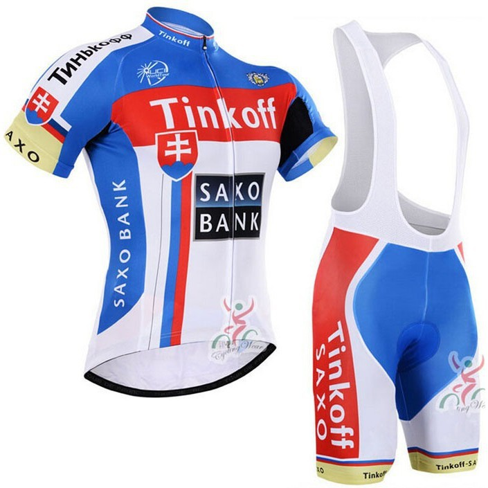 SaxoBank Tinkoff Pro Maillot Rock Cycling Jersey Set  b6e7da30c