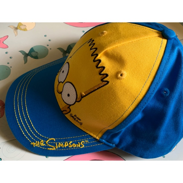 Boys Bart Simpson Summer Baseball Cap Hat