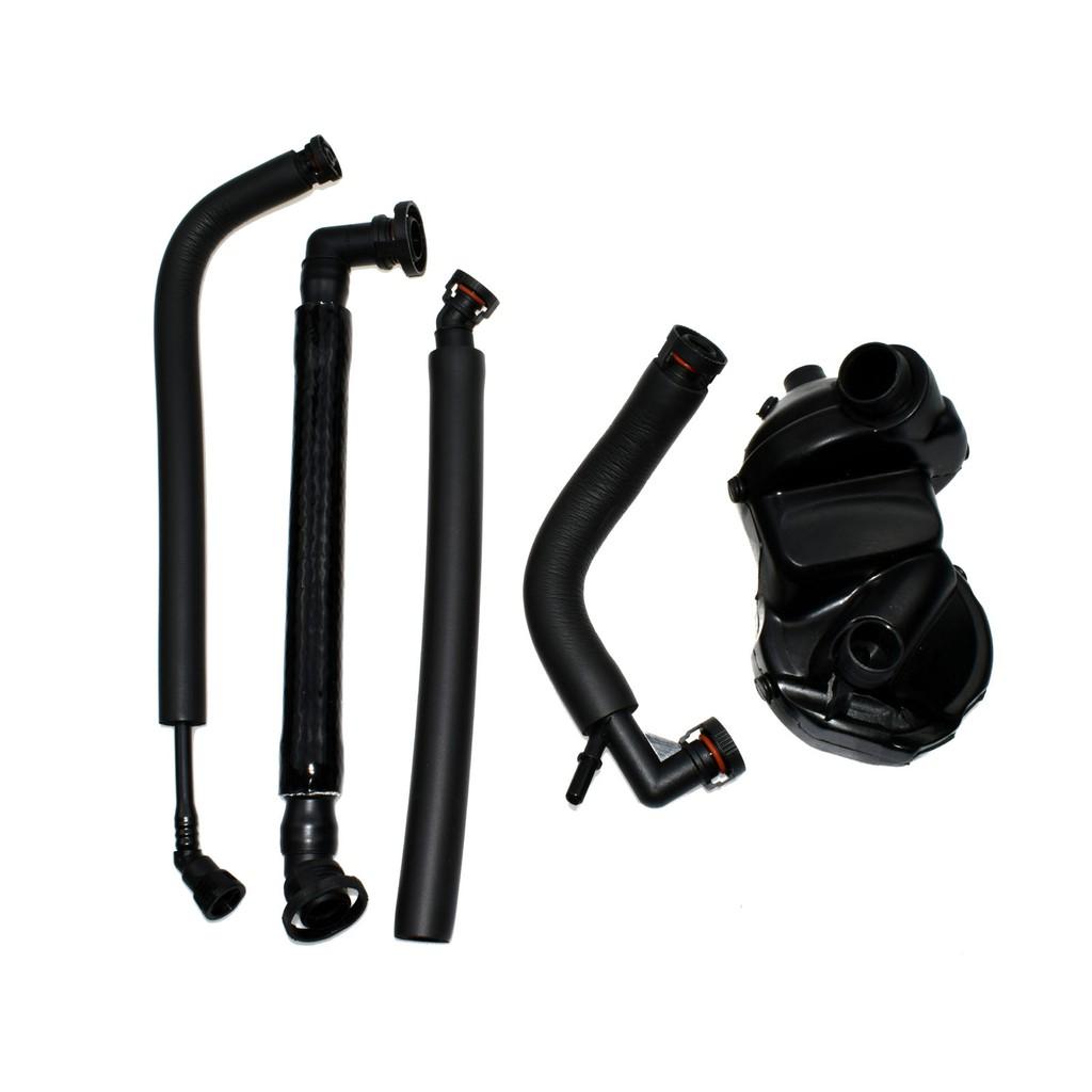 COLD WEATHER CLIMATE PCV Crankcase Vent Valve Breather Hose 5Pc Kit for BMW E46