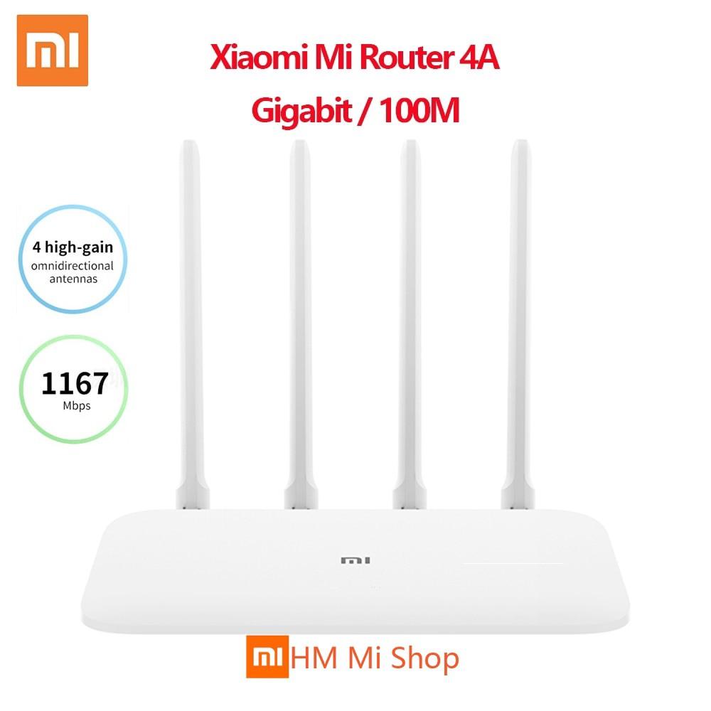 Xiaomi Mi Router 4A Gigabit Edition 100M 1000M 2 4GHz 5GHz 128MB WiFi 4  Antennas