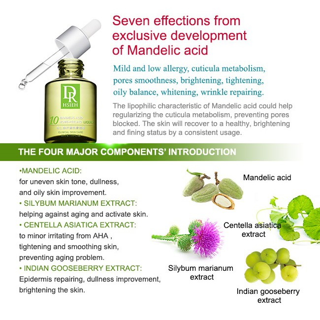 Dr  Hsieh Mandelic Acid Acne/Pimple Treatment Serum 10% 15ml