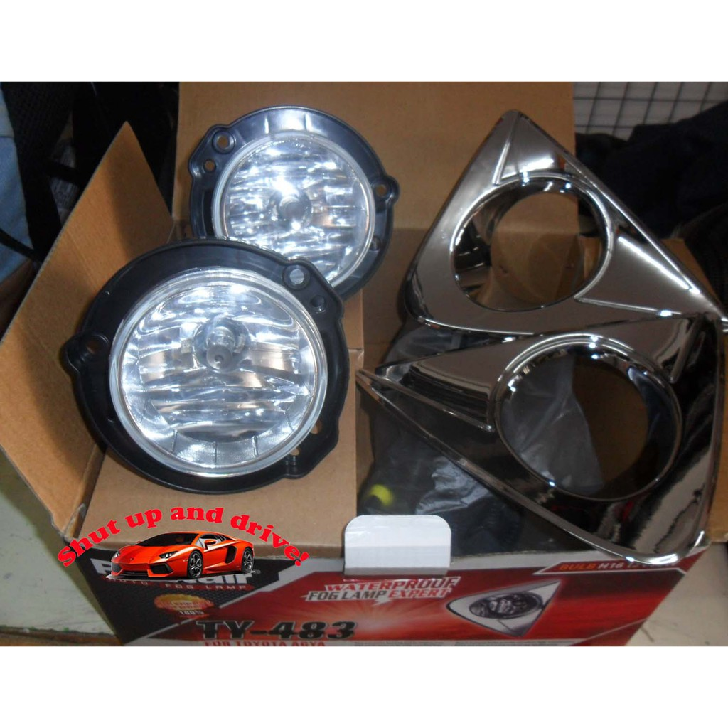 Foglight Foglamp Assembly For Toyota Vios 2003 To 2008 Robin Fog Lamp Avanza 2004 Complete Shopee Philippines
