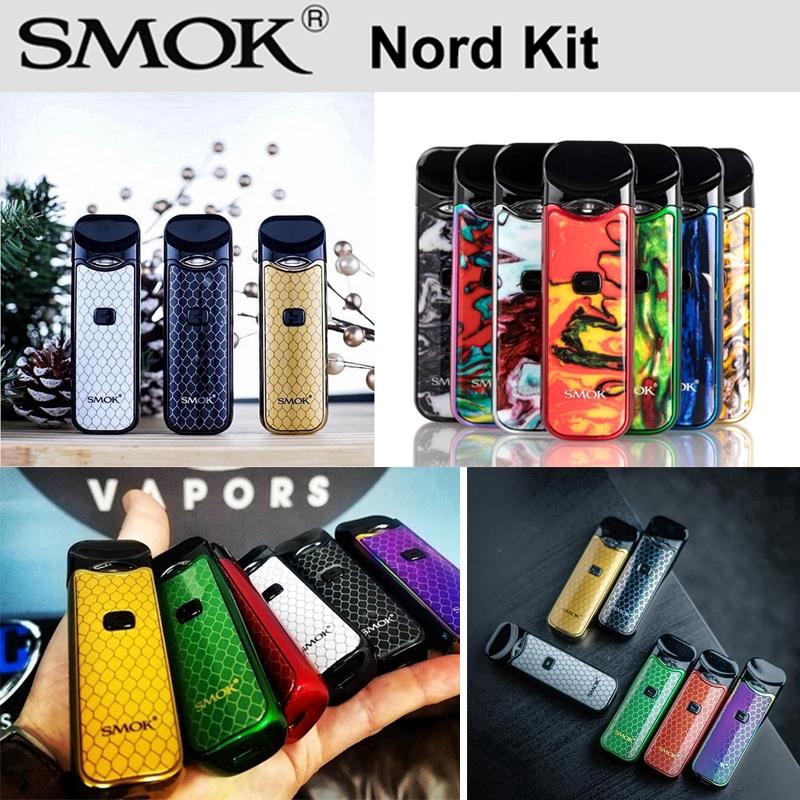 Smok Vape NORD Kit 3 ml Vape Capsule 1100 mAh battery Nord mesh More colors  available