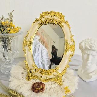 Aesthetic Minimalist Gold Stand Mirror Shopee Philippines