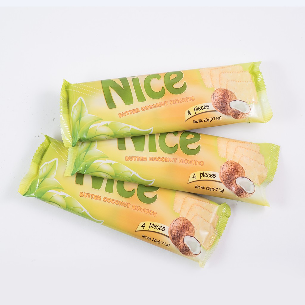 Rich Garden Nice Butter Coconut Biscuits - 20g x 10 packs