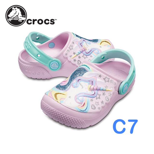 2b9263f7a Crocs Unicorn | Shopee Philippines