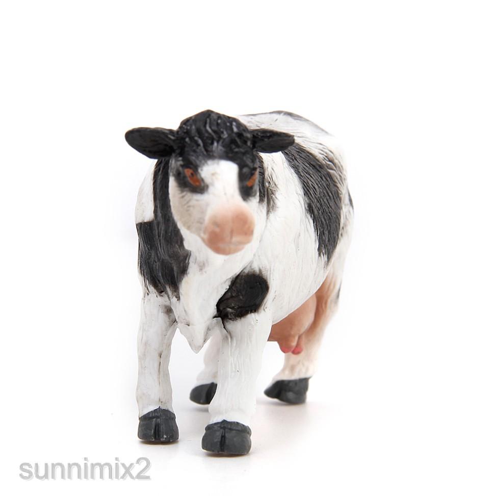 18pcs Plastic Farm Animals Figures Kids Dog Cow Sheep Horse Donkey Model Toy