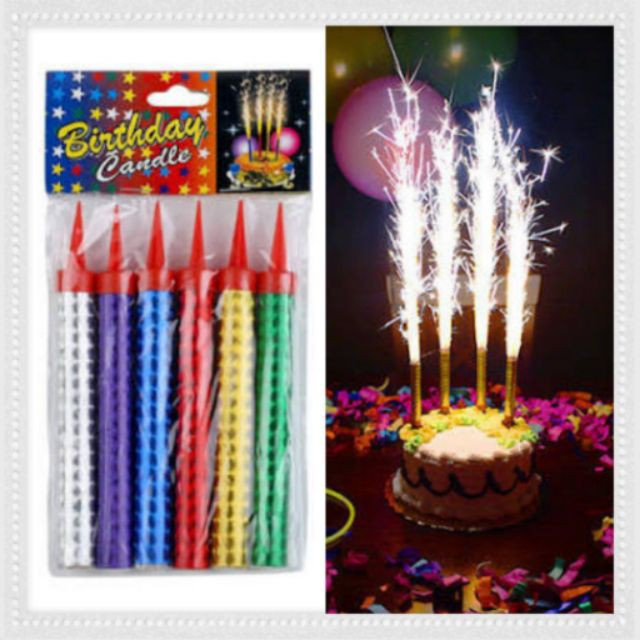 SPARKLING BIRTHDAY CANDLE