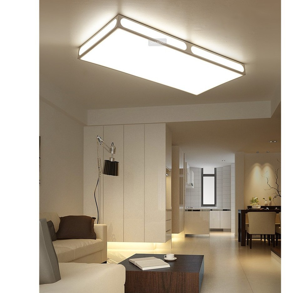 Ultra Thin Ceiling Light Modern Minimalist Living Room Lamp Shopee Philippines