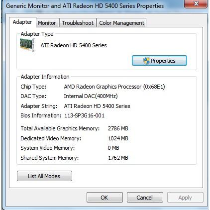 Video card Radeon HD 5400 1gb   Shopee Philippines