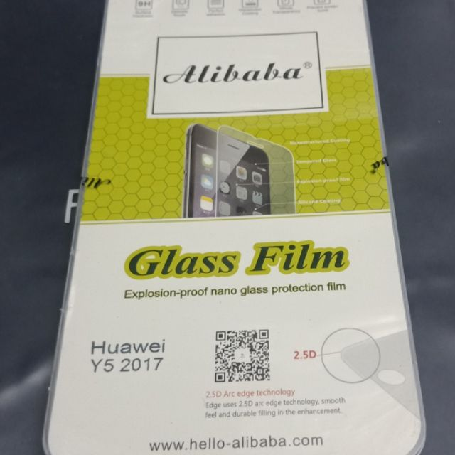 Huawei Y5 2017 alibaba tempered glass