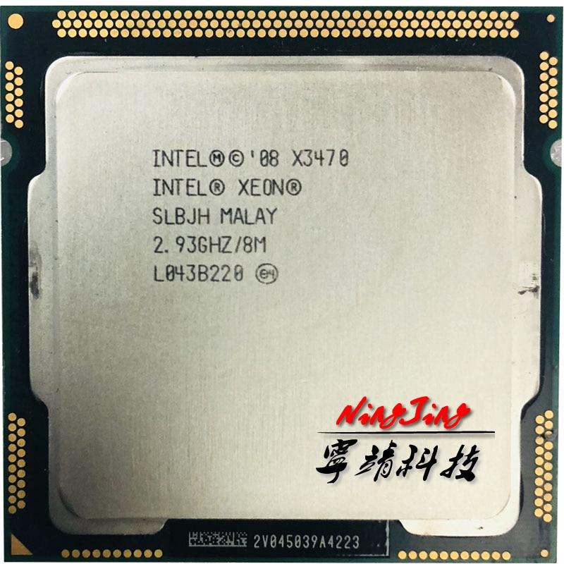 Inte1 Xe0n X3470 2 933 GHz Quad-Core Eight-Thread 95W CPU Processor 8M 95W  LGA 1156