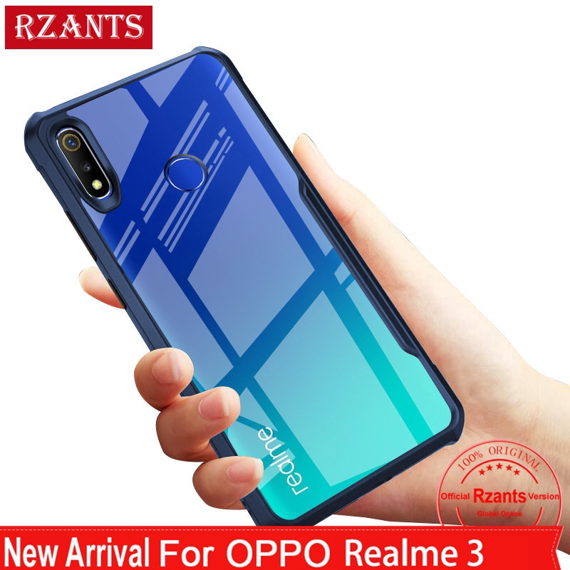 For OPPO Realme 3 Realme 3 Pro Realme C2 OPPO K3 Realme X Case Clear TPU  Edge ShockProof Slim Cover