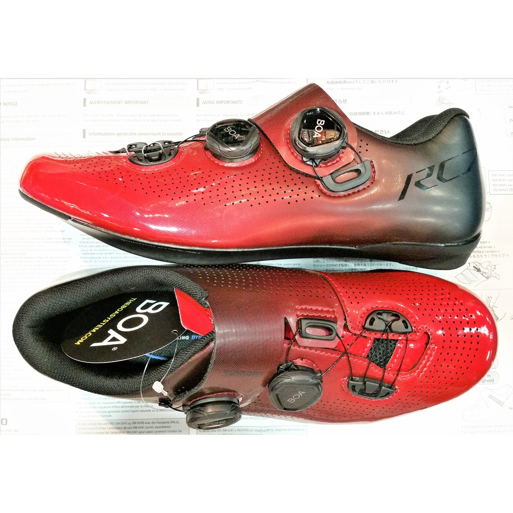 first rate promo codes the cheapest SHIMANO RC701 / RC7 Road / Cycling Bike Shoes - Black & Red ...