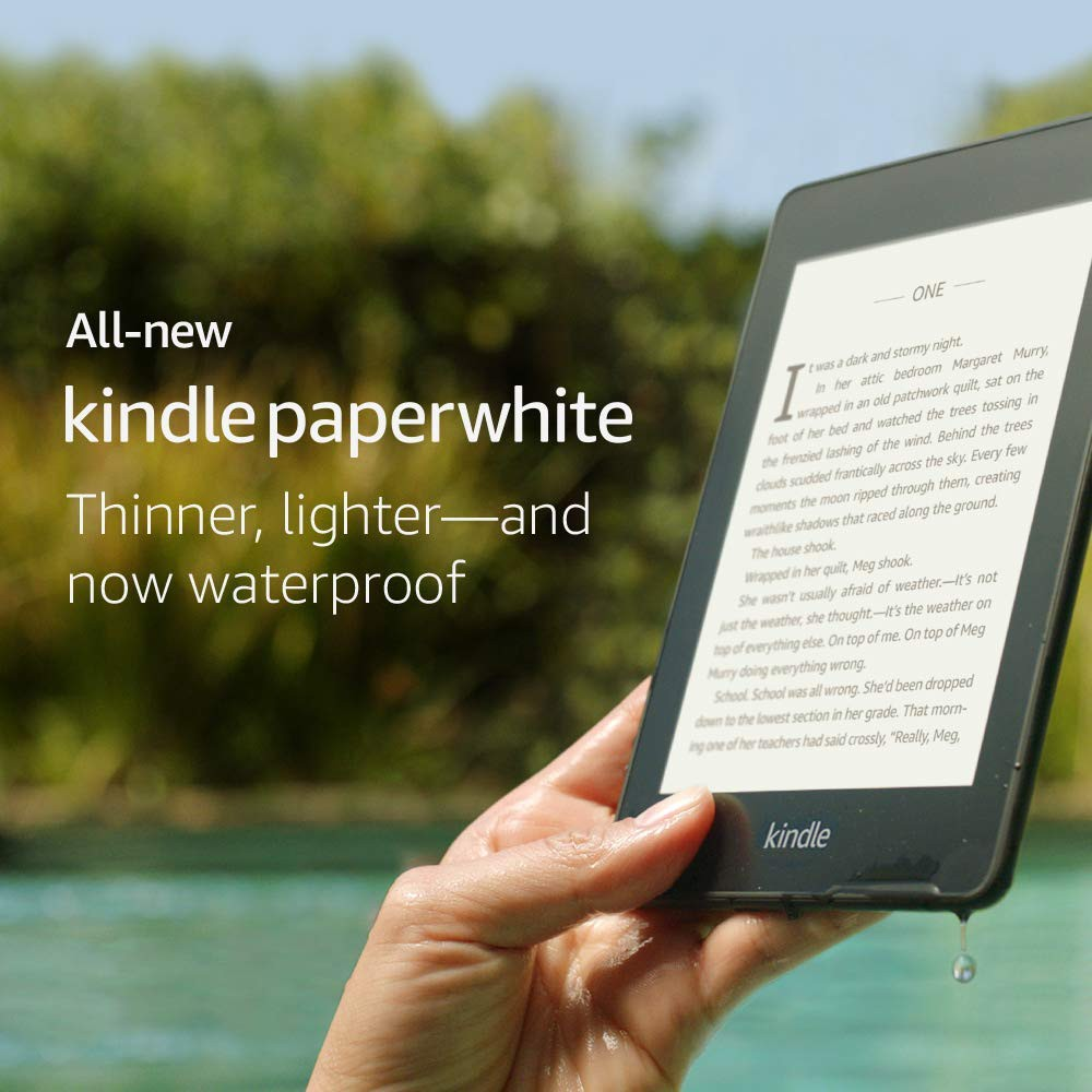 Amazon Kindle Paperwhite 2018 10th Gen - Waterproof | Shopee Philippines