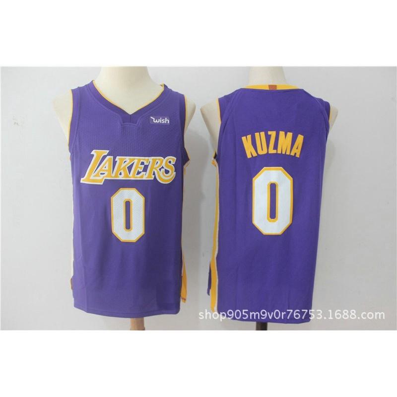 Lakers  0 KUZMA jersey  2de4087fb