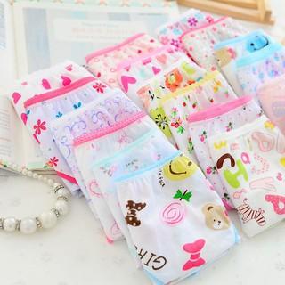 0e14c4c7184 6pcs Baby Kids Girls Underpants Soft Cotton Panties Child Underwear Short  Briefs