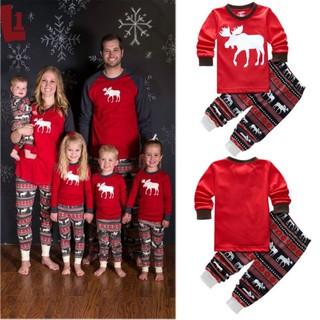 Matching Family Christmas Outfits.Christmas Tops Pant Family Matching Outfits Clothes Sweater
