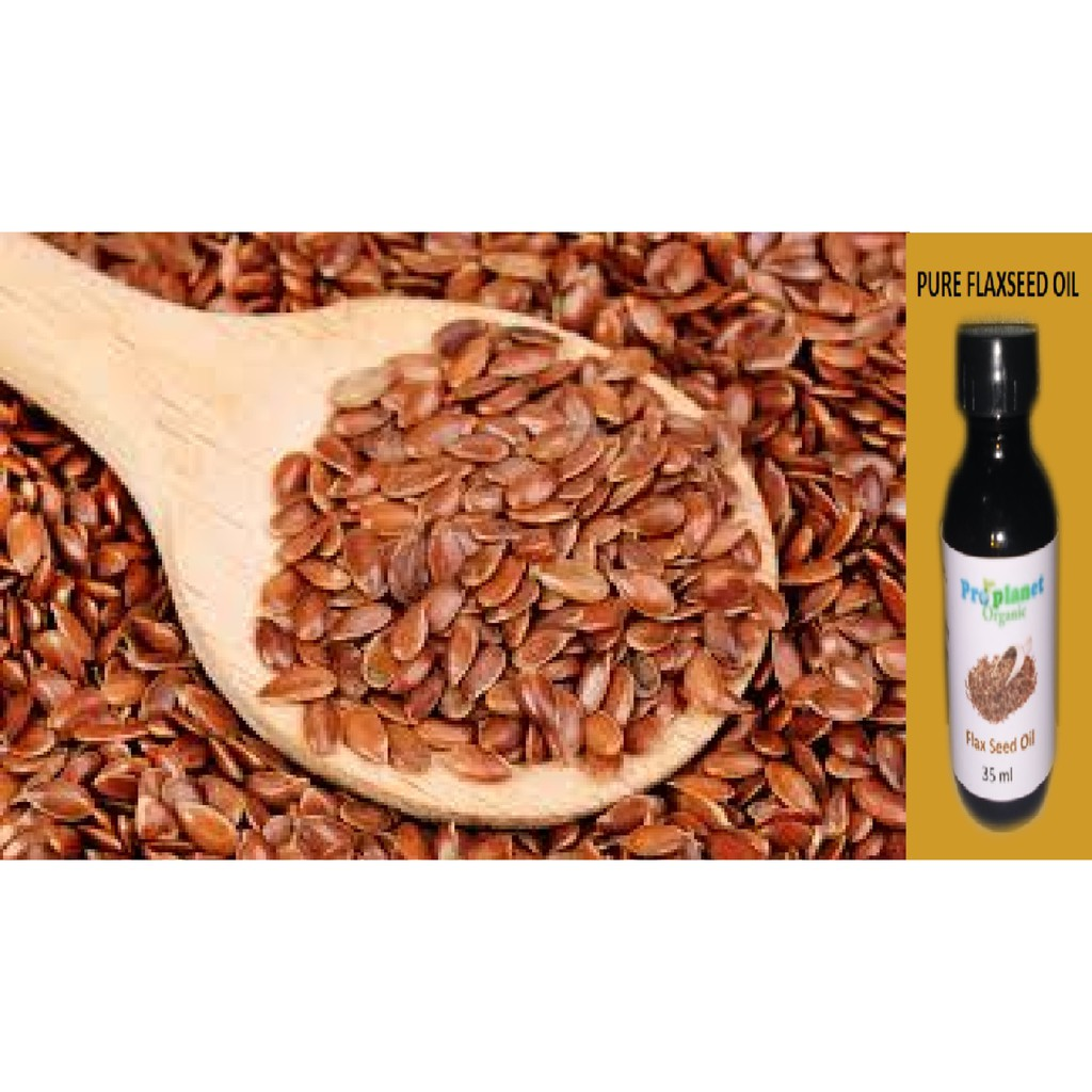 Flax Seed Oil 35 Ml Pure Flax Seed Linseed Oil