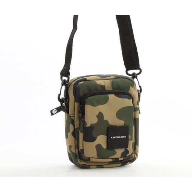 BAPE A BATHING APE Men Sling Shoulder Bag Travel Crossbody Bag Bookbag Magazine