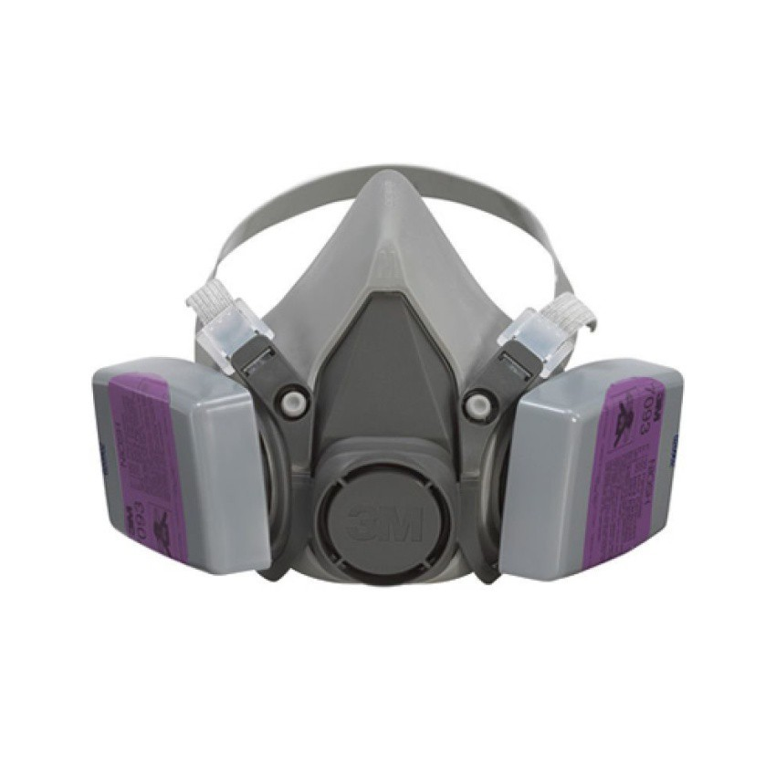 Reusable With 3m Mask 6200 Gas Face Half