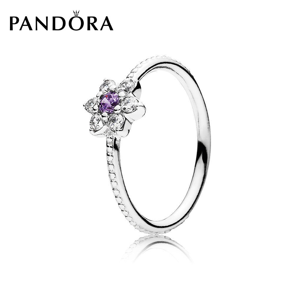 99dcb75bd Pandora Forget Me Not Ring | Shopee Philippines