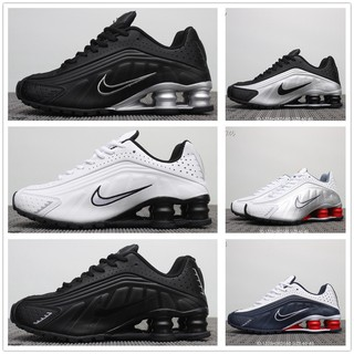 huge discount b1fd8 9daf1 New Nike Air Shox R4 Running Shoes For Men Factory Price Com   Shopee  Philippines