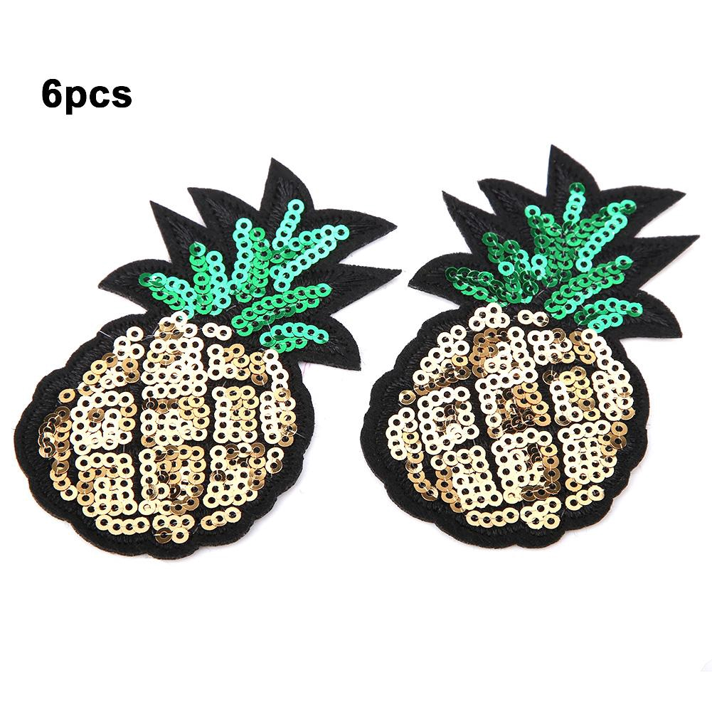 2bc93f89 6Pcs/pack Embroidered Sequin Sew on Patch DIY Applique | Shopee Philippines