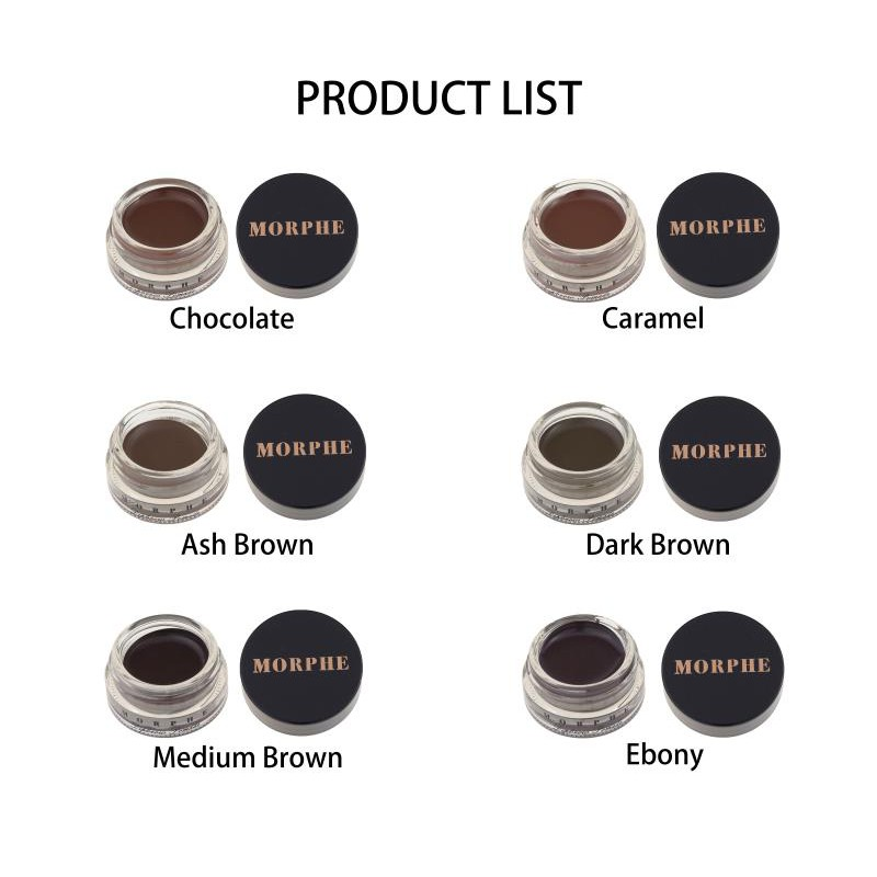 Morphe Dipbrow Pomade Shopee Philippines 5 out of 5 stars rating. morphe dipbrow pomade