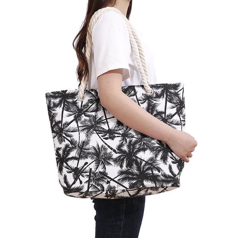 Beach Bag Multicolored Market Bag Tote Bag Women/'s Handbag