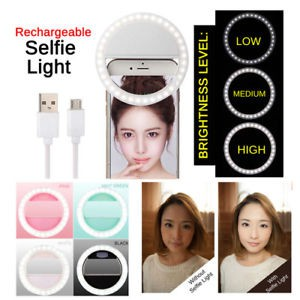 Ulife Rechargeable Selfie Ring Light Shopee Philippines