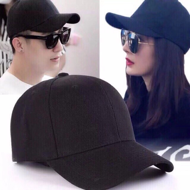 Unisex Plain Cap Solid Color Curved Visor Hat#UCH