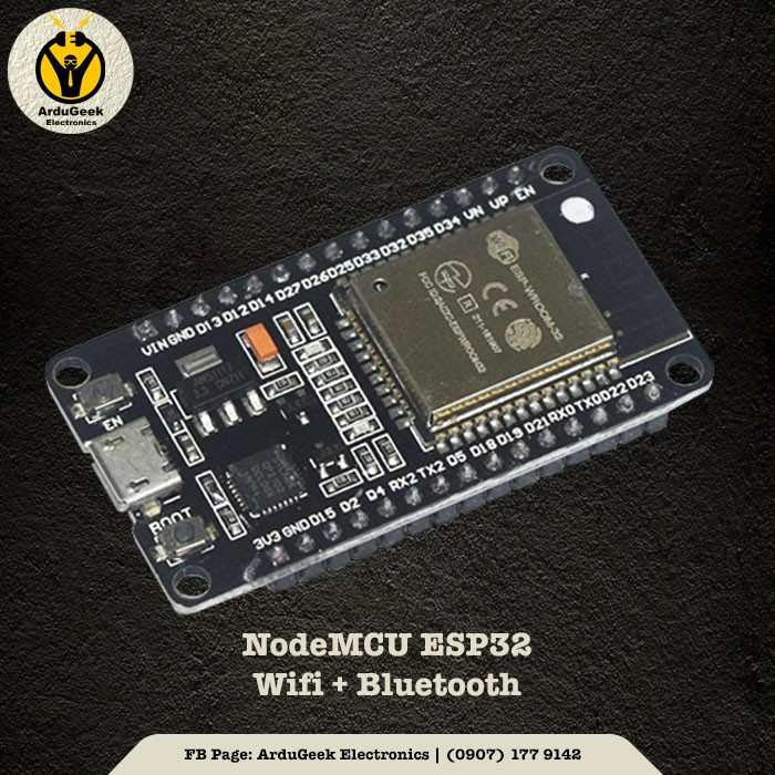 NodeMCU ESP32 Wifi+Bluetooth Development Board