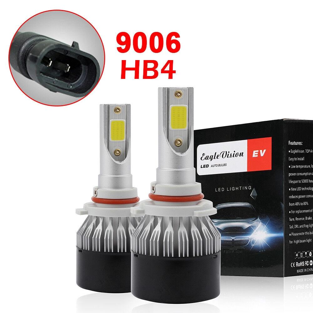 2x 360 °Car LED H7 Headlight Kit Bulbs 6000K 20000LM 200W White C6 Lamp Bulb SH2