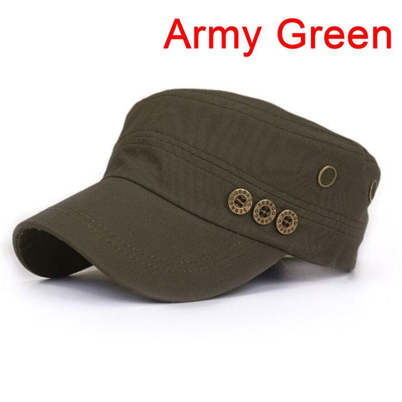 70a3f708 Classic Army Plain Hat Cadet Baseball Cap | Shopee Philippines