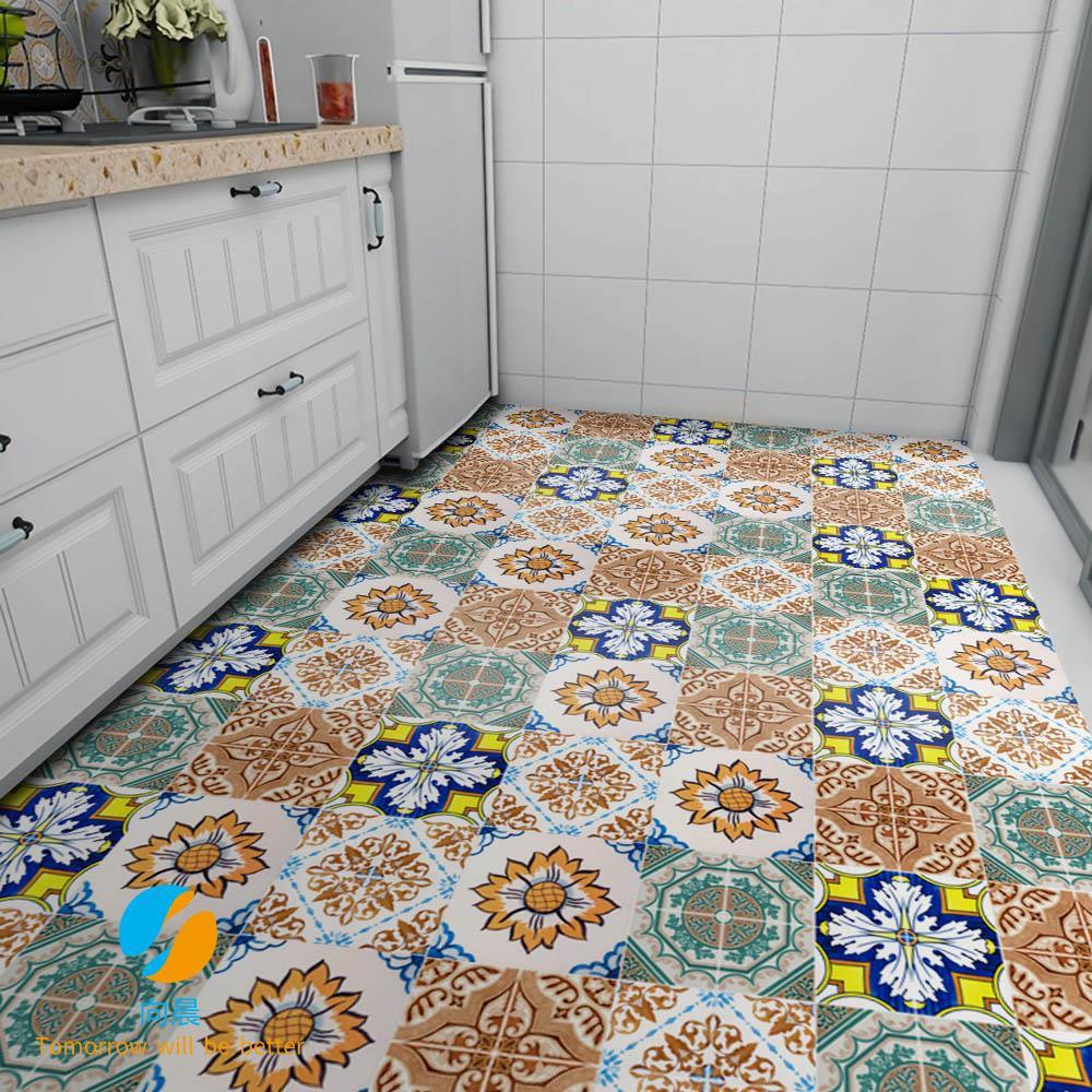 Kitchen Floor Tile Decoration