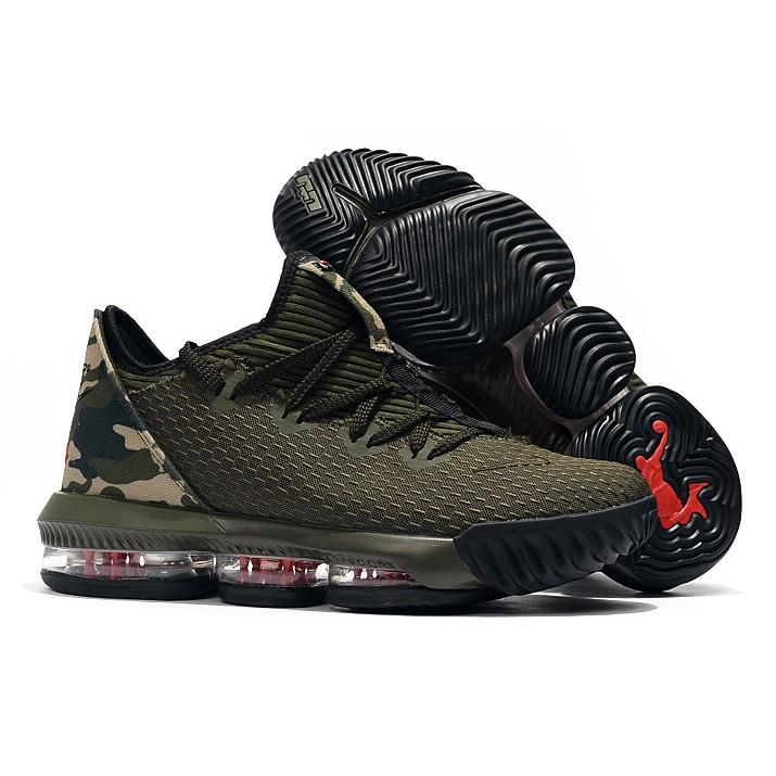 strona internetowa ze zniżką gorący produkt gorąca sprzedaż online Nike Lebron 16 Low Camo (OEM) Marvelous Quality