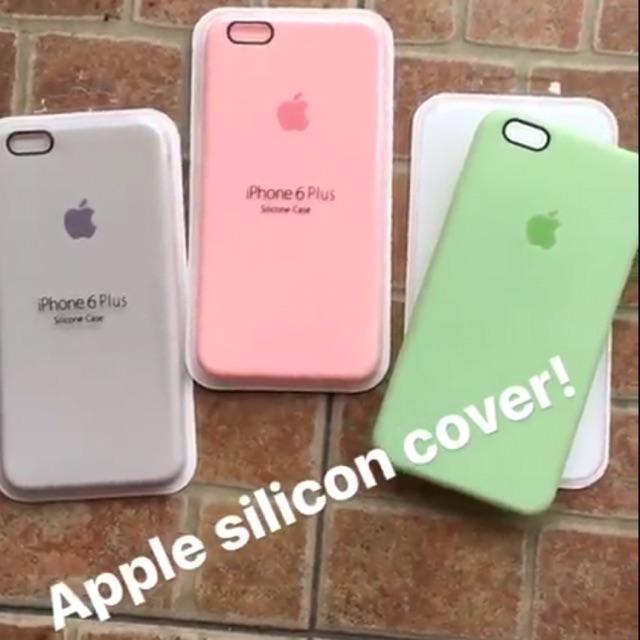 quality design 114a5 2dd1f ORIGINAL apple silicone case