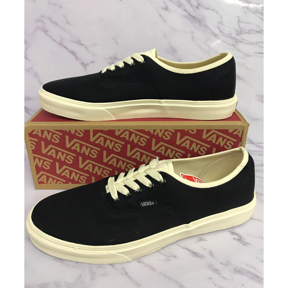 Vans Authentic Black Gum Sole  44d87fd385ce
