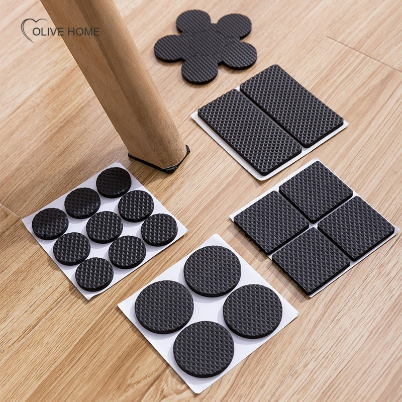1 Set Non Slip Self Adhesive Thickening, Floor Protectors For Furniture