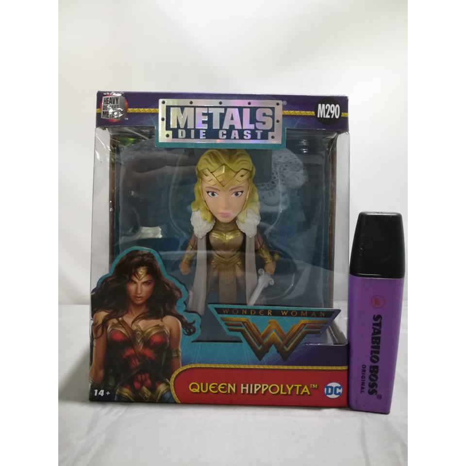 Metals Die Cast Wonder Woman Queen Hippolyta Figure M290