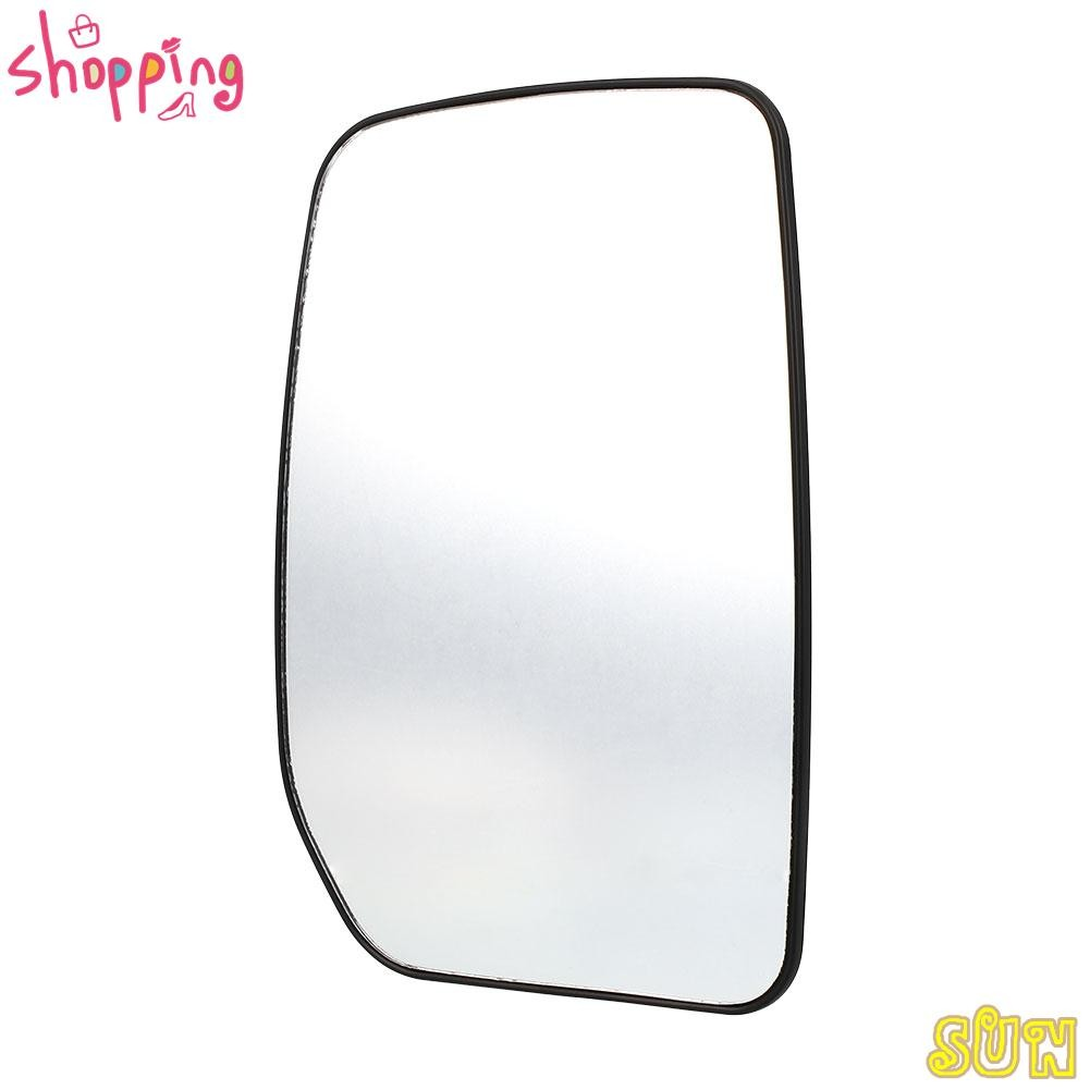 BMW 7 Series Right Driver wing mirror glass 94-01 side Wide angle Heated Blue