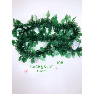 Tinsel Christmas Tree.10pcs Christmas Tinsel Christmas Tree Decor Party Decor