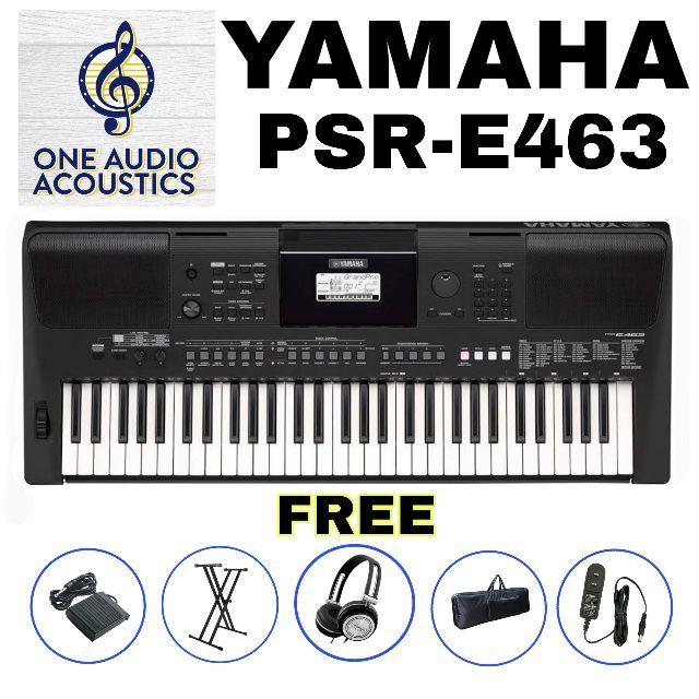 YAMAHA PSR-E463 ELECTRONIC KEYBOARD