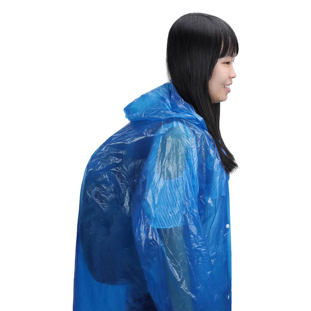863da7a87 Water Resistant Hiking Tour Hooded Rain Coat