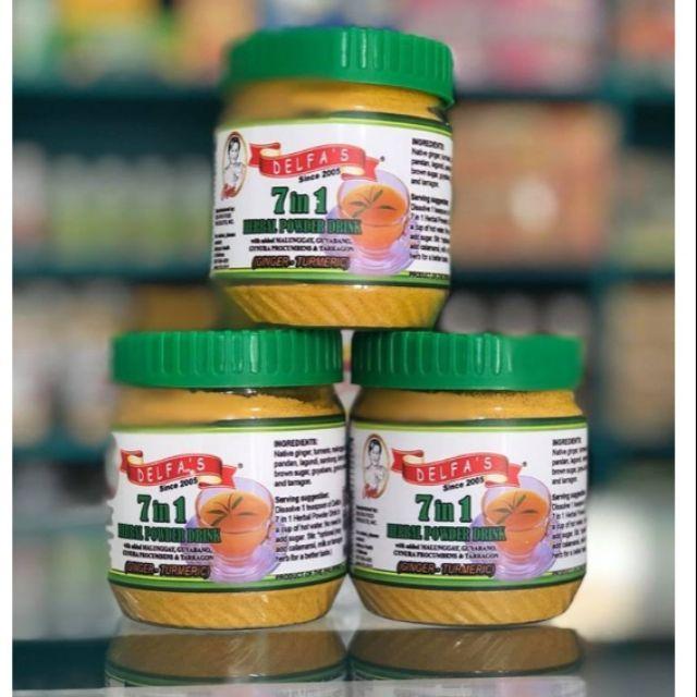 Delfa's 7 in 1 Turmeric Herbal Powder (150g pack)