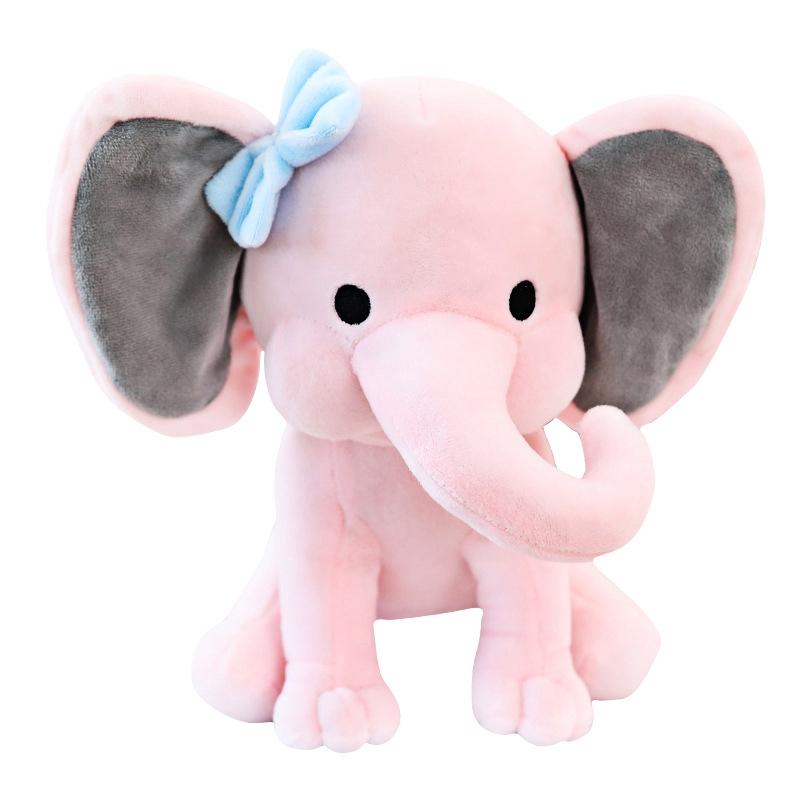 Bedtime Originals Choo Choo Gray Plush Elephant Stuffed Animal Humphrey