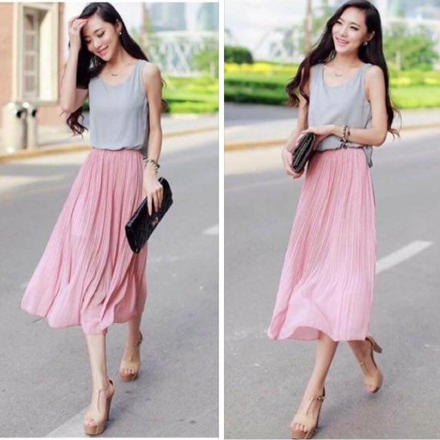 Pink Gray Dresses